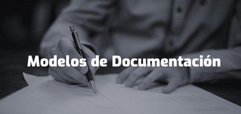 modelos de documentacion lopd